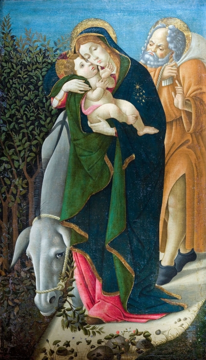Botticelli - The Flight into Egypt
