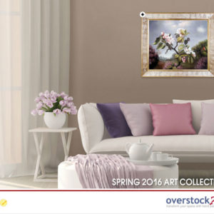 overstockArt.com Issues Interactive New Catalog for Spring