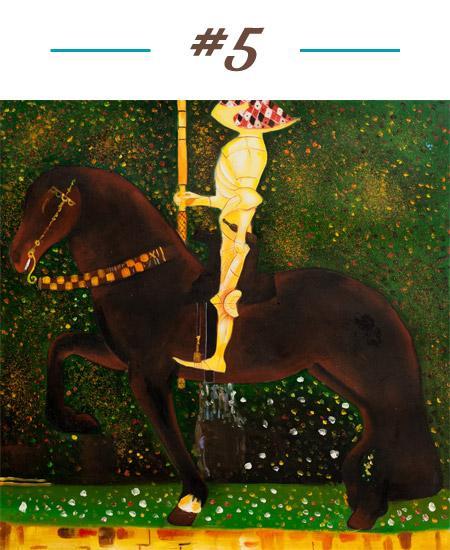 Gustav Klimt - Golden Knight