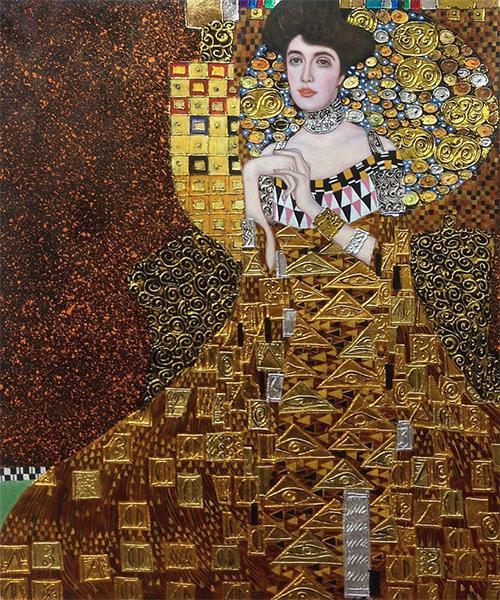 """Portrait of Adele Bloch-Bauer I"" - Gustav Klimt"