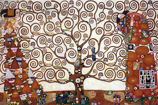 """Tree of Life"" - Gustav Klimt"