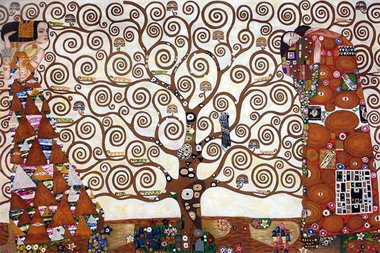 """Tree of Life"" - Gustav Klimt"