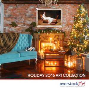 Find Artful Decorating Ideas with overstockArt's All New Holiday Catalog