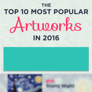 "Van Gogh Defeated? Check Out This Surprising ""Top 10 Art for 2016"" Infographic"