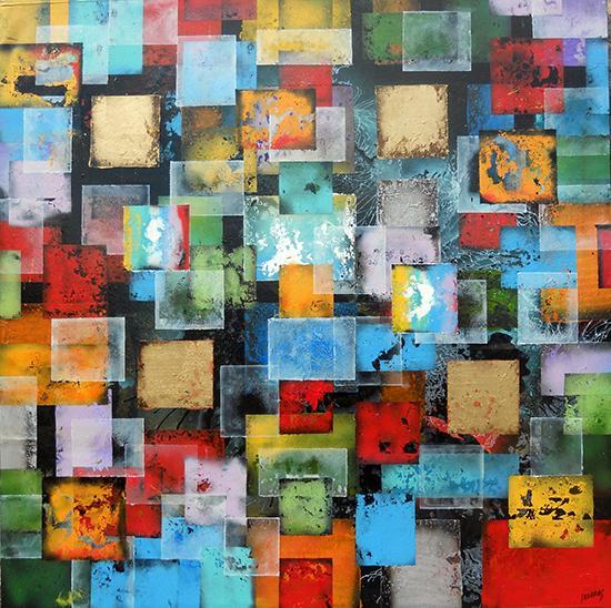Black Geometric - Joan Llaverias