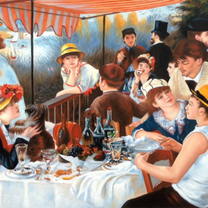 Renoir's Inner Circle:  Luncheon of the Boating Party