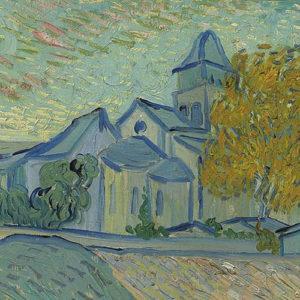Vincent's View: Vue de l'asile et de la Chapelle de Saint-Rémy