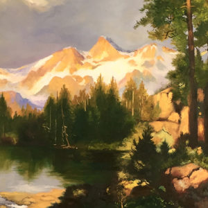 Thomas Moran, Captures American Wilderness on Canvas