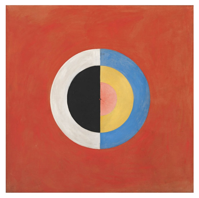 Hilma af Klint - Group IX/SUW, The Swan, No. 17 -True Abstract Pioneer