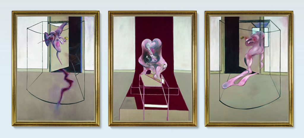 Francis Bacon - Triptych Inspired by the Oresteia of Aeschylus - Hybrid Art Auctions