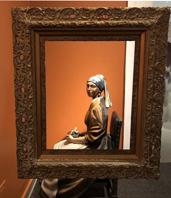 Johannes Vermeer - Girl with a Pearl Earring - Grounds For Sculpture