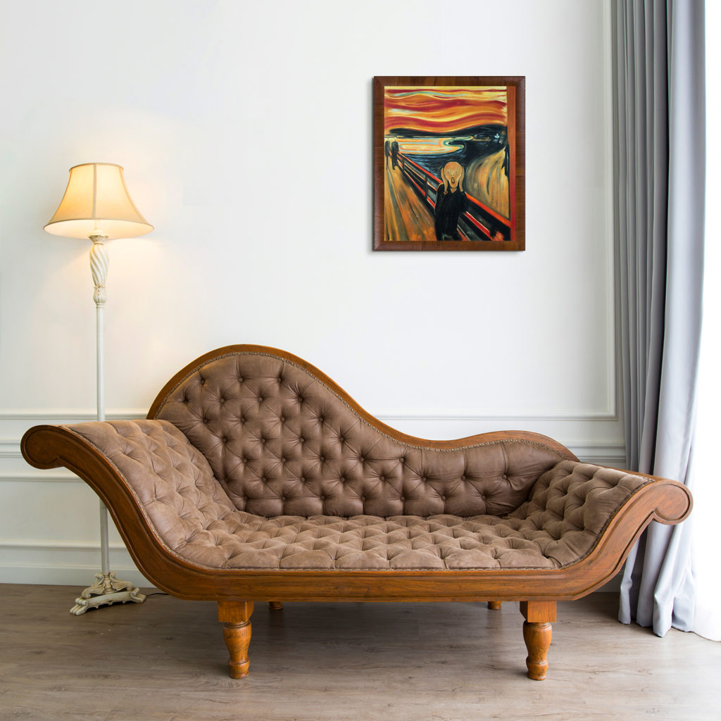 Edvard Munch - The Scream - Holiday Gifts for Mom and Dad