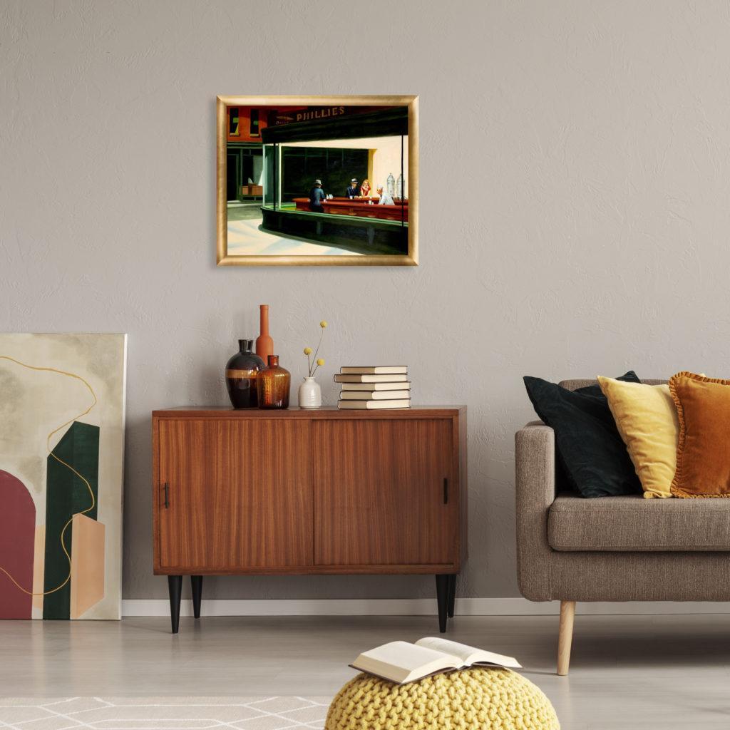 Edward Hopper - Nighthawks, 1942 - Best-Selling Paintngs of 2020
