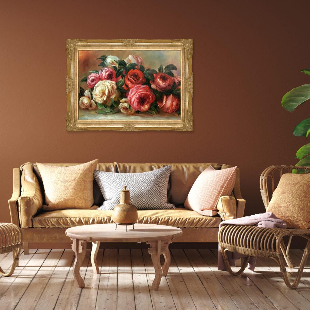 Pierre-Auguste Renoir - Discarded Roses - Best-Selling Paintings of 2020