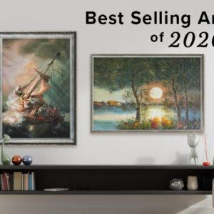 Best-Selling Paintings of 2020