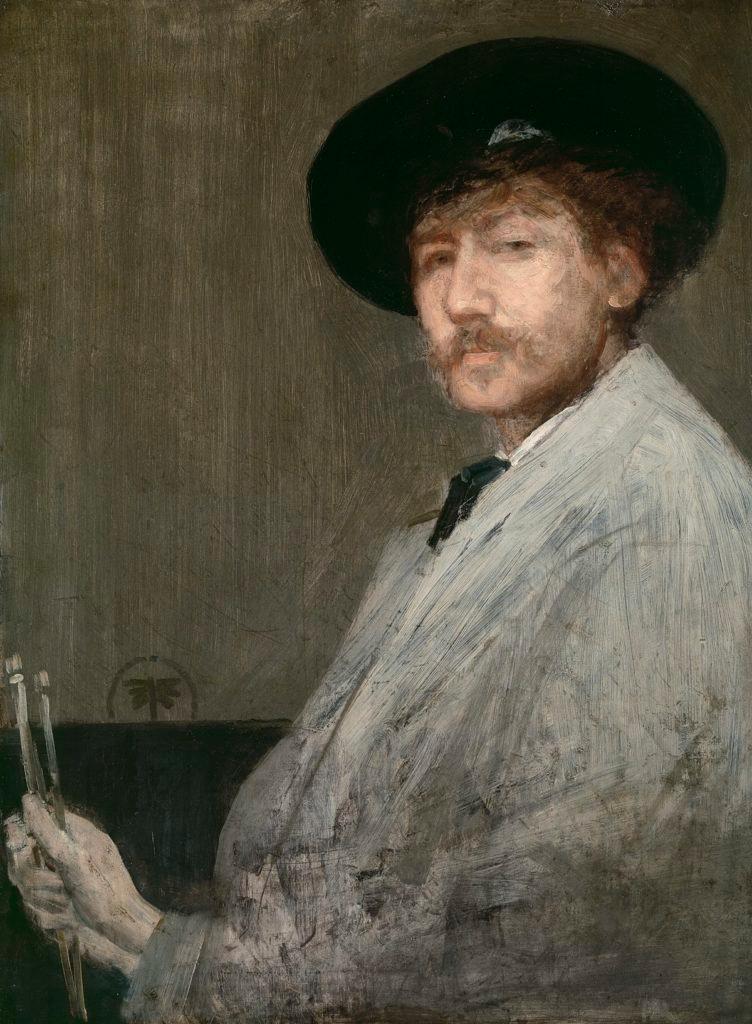 Whistler - Self Portrait
