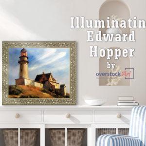Illuminating Edward Hopper: Lighthouse at Two Lights