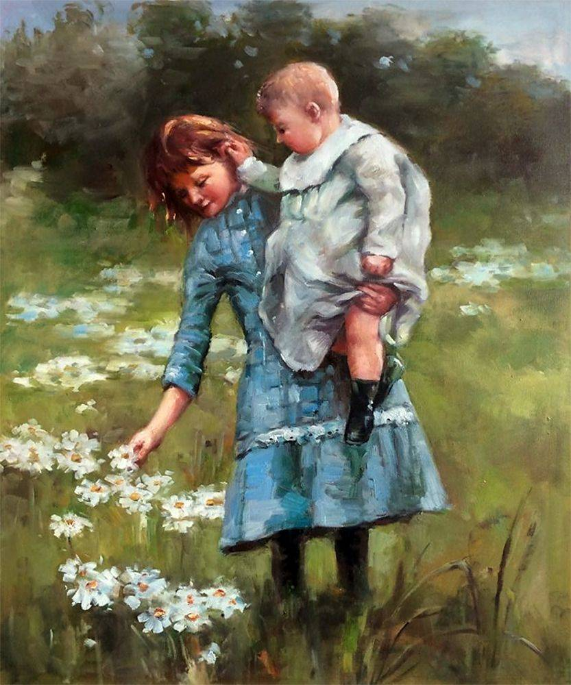 Thomas-Robinson_In-a-Daisy-Field_Daughter's-Day