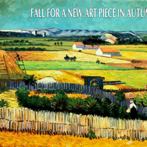 Fall for a New Art Piece in Autumn