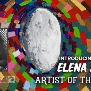 Elena Soroka: Capturing the Glitch Effect in Abstract Art