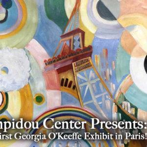 Georgia O'Keeffe Works Finally Find a Paris Home