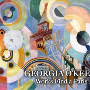 Georgia O'Keeffe Work Finds a Paris Home